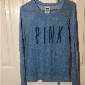 PINK sheer thin sweater